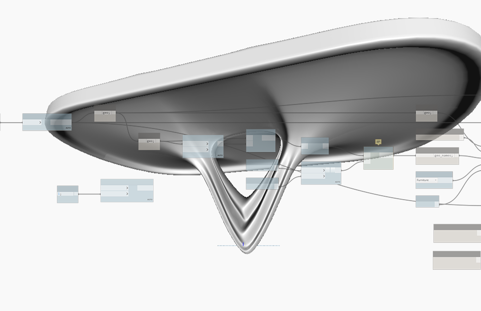 Exporting geometry from Rhino to Revit, and how to tell Revit how to behave.