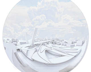 Breath Line Urban Corridor | Fish Eye view