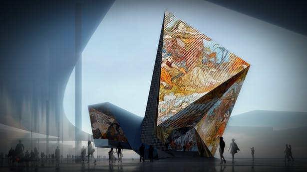 Iraq Pavilion ( 2nd Proposal ) at Expo 2020
