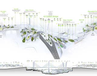 Breath Line Urban Corridor | 3D