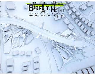 Breath Line Urban Corridor | Aerial view