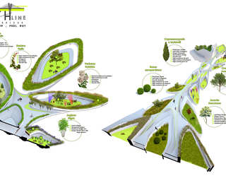 Breath Line Urban Corridor | Landscape Diagram