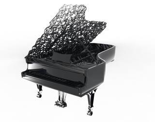 Piano Design | Leaves Venation