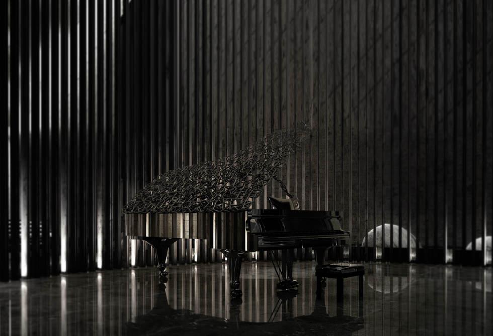 The Black Lily Piano