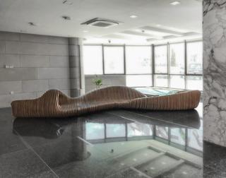 The Carved Rock | Bench Design