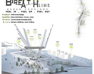 Breath Line Urban Corridor | Section in the Bridge