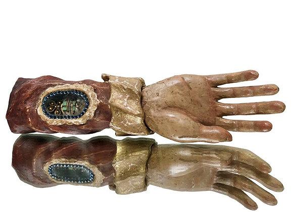 Baroque Hand Reliquary, 1700's