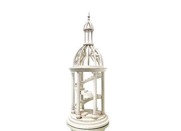 Antique Italian Architectural Model Of A Dome, Late 1800's