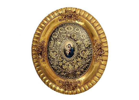 Antique French Reliquary, 1800's