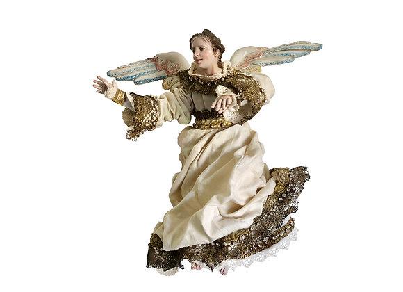 A  Glorious Italian Creche Angel