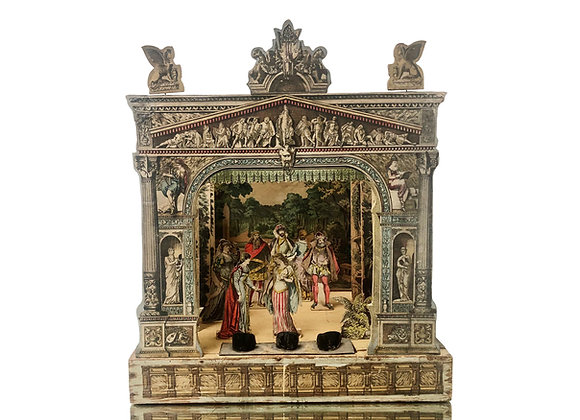 An Extremely Rare Antique Theatre From Germany, The Sleeping Beauty, 1800's