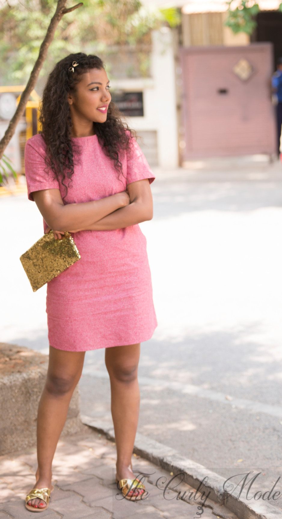 3 Ways to wear a Shift Dress - Look #3 - The Girl