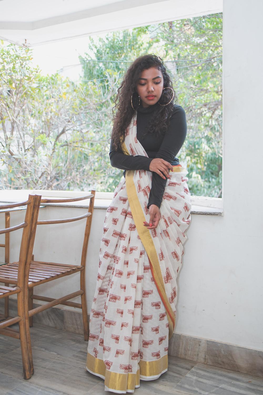 The Curly Mode, Unnati Silks, Collaboration
