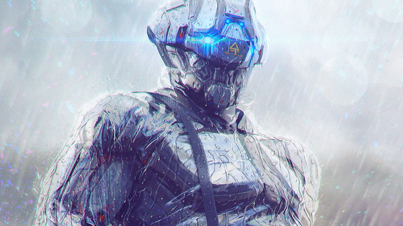Futuristic Robot