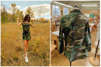CAMOUFLAGE TWO-PIECE
