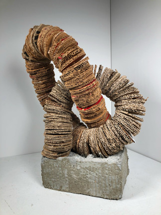 KNOTTED CARDBOARD