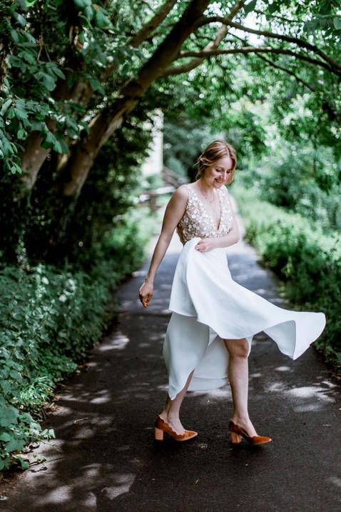 Huwelijksfotografie bruid