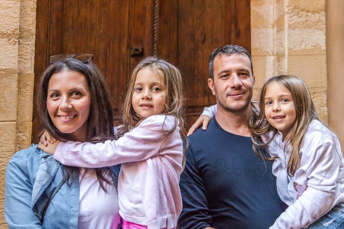 Take family portraits.