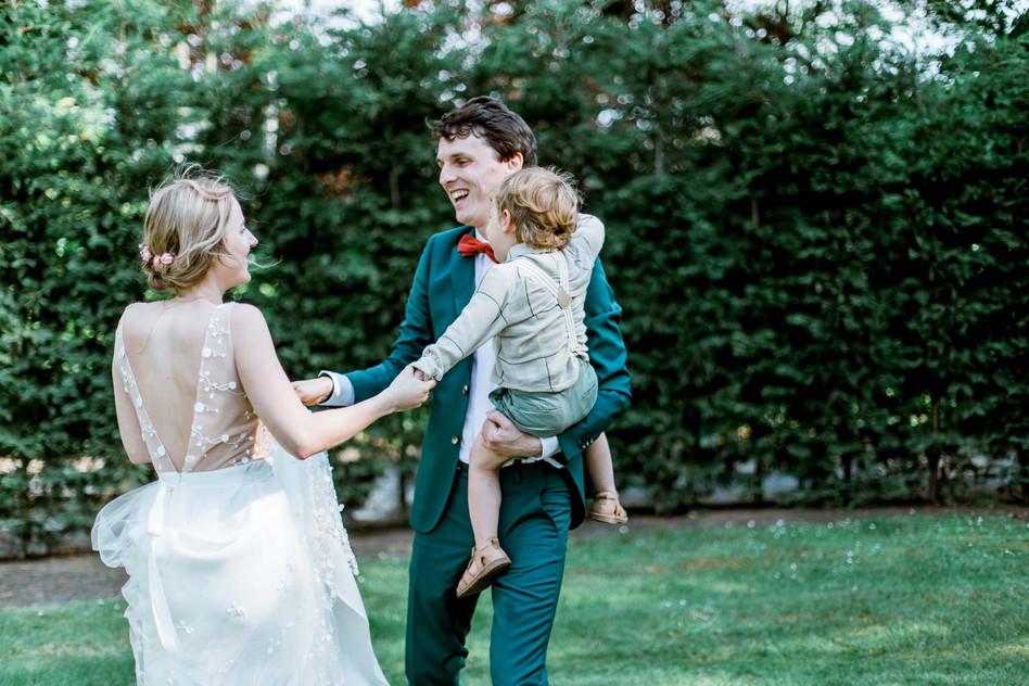 Huwelijksfotografie gezin