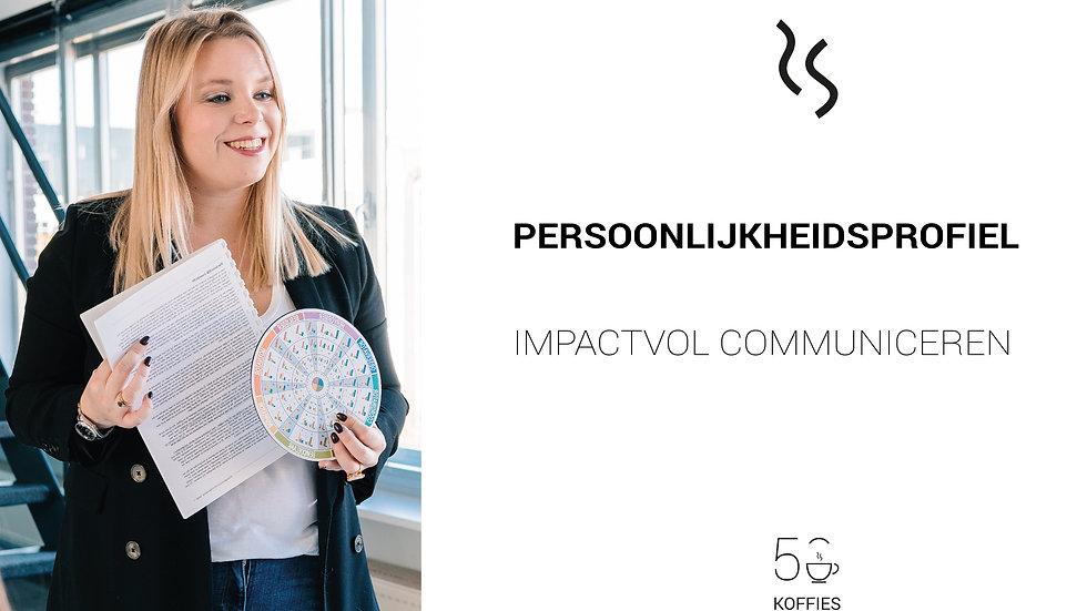 Persoonlijkheidsprofiel : Impactvol communiceren