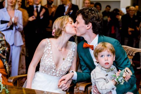 Huwelijksfotografie gemeente kus