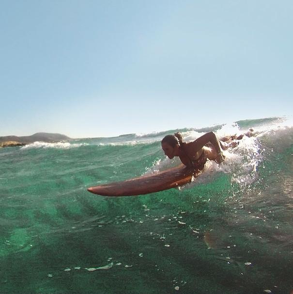 Surfing Falasarna