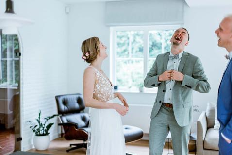 Huwelijksfotografie broer zus