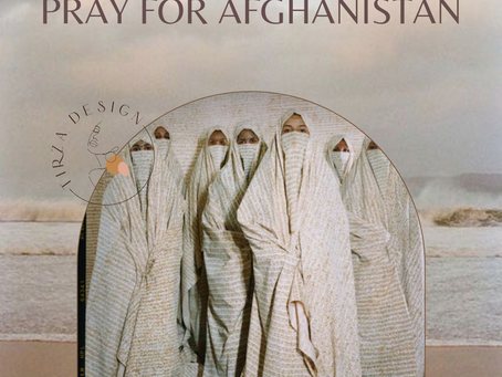 Hope for Afghanistan.