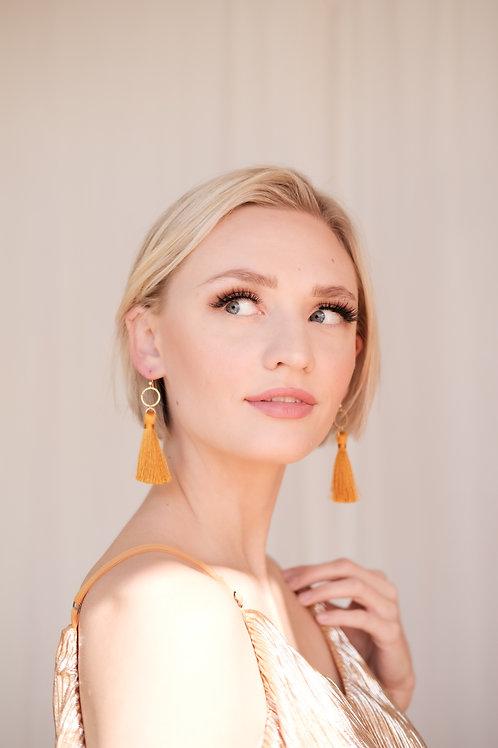 Exodus Tassel Earrings