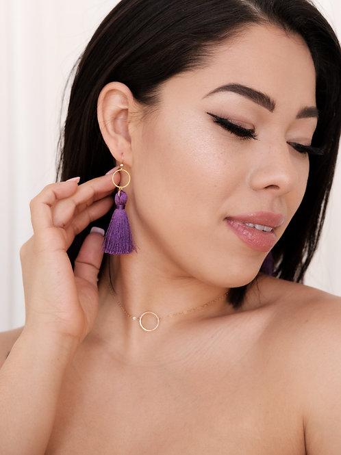 Phoenix Tassel Earrings