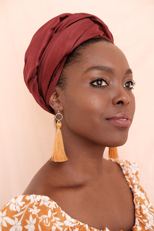 Exodus Tassel Earrings