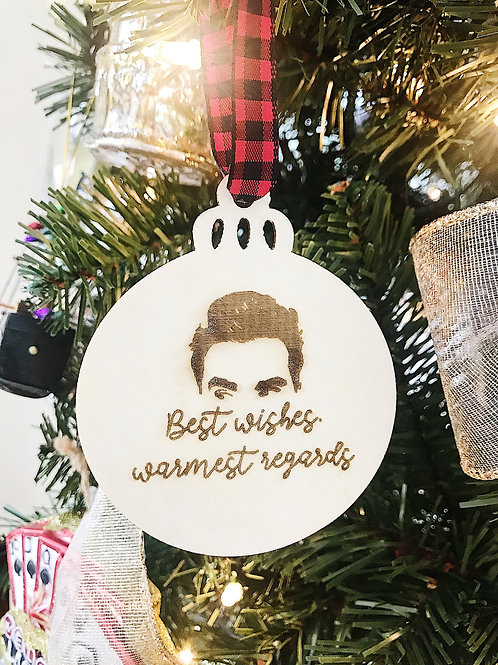The Best Wishes Ornament