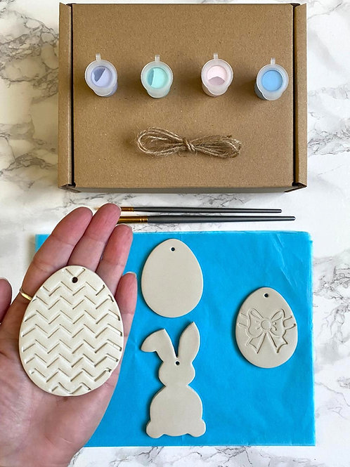 Paint your own Easter decorations kit