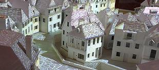 Maquette utopique de la Cité du Sel