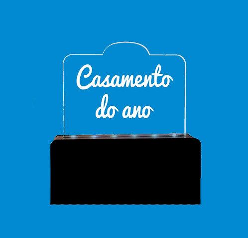 Luminária CASAMENTO DO ANO