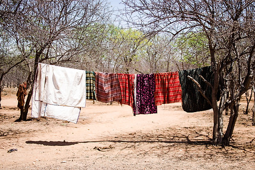 Varal Himba, Namíbia (2016)