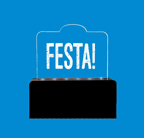 Luminária FESTA!