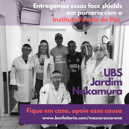 Entrega de máscaras UBS