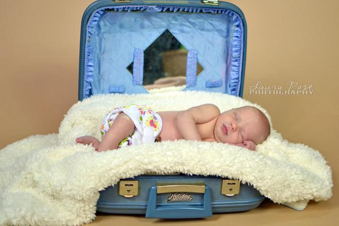 Baby G's newborn session