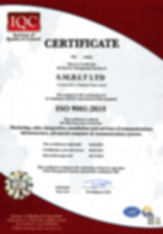 SMBIT ISO 9001:2015