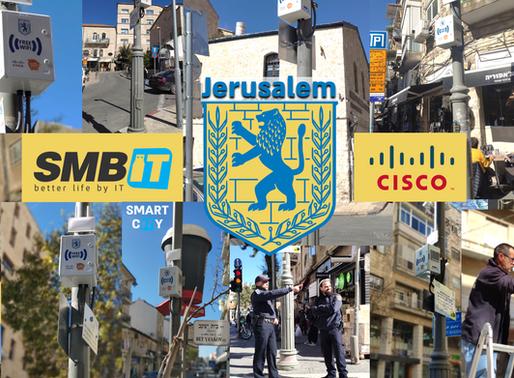 רשת אלחוטית מהירה בירושלים