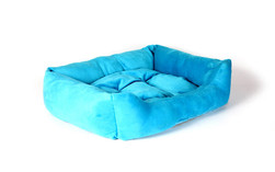 Blue Dog Bed 2