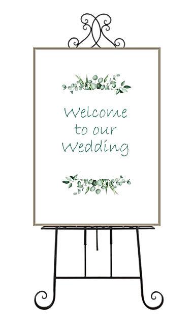 Wedding Ceremony & Reception Signs
