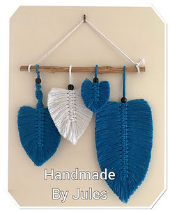 Blue & white feathers black beads.jpg