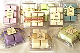 Natural Soy Melts - Hand Made By Jules -  6 per pack - beautifully fragrant