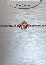 Elegant Glamour Pocket Wedding Invitation - Hand Made By Jules