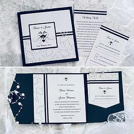 Display Pocket Wedding Invitation