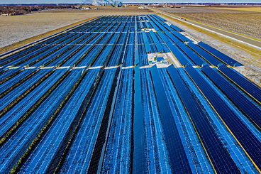 aerial-photography-of-blue-solar-panels-