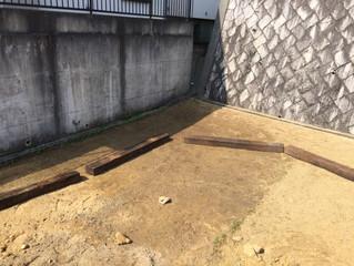 生駒市のフォレストガーデン(枕木編)
