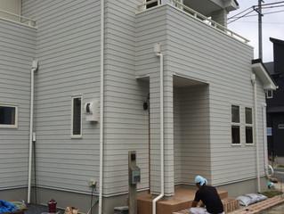 滋賀県草津市のナチュラルな新築外構がスタート